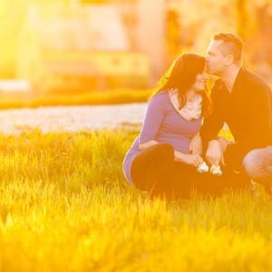 Těhotenství - Katka a Michal